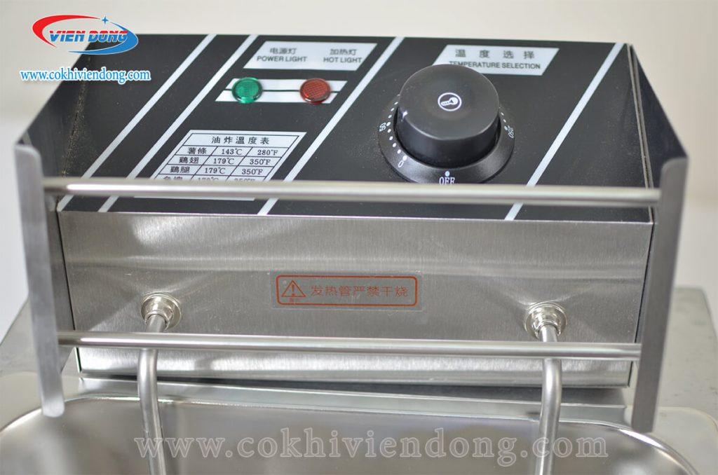 Bếp chiên đơn buồng lớn ZL18