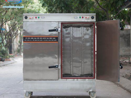 Tủ hấp cơm công nghiệp 24 khay