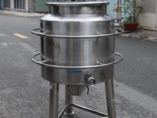 nồi nấu sữa đậu nành công nghiệp dùng điện