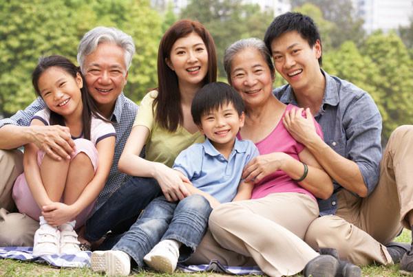 Gia đình mạnh khỏe