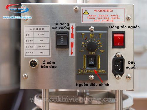 Máy làm xúc xích bằng điện ETV15
