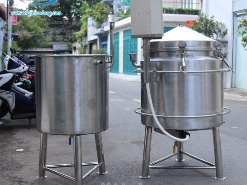 nồi nấu rượu 10kg/mẻ
