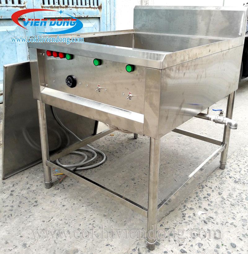Bếp chiên nhúng công nghiệp đơn