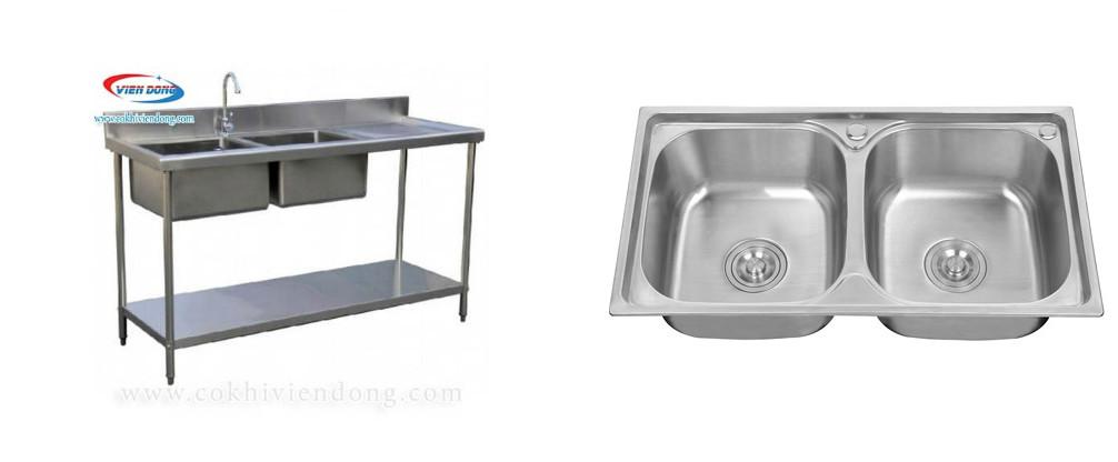 Sự khác biệt giữa chậu rửa công nghiệp và chậu rửa inox thông thường