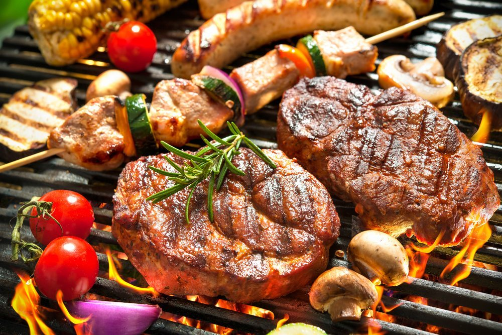 Bếp nướng BBQ dùng than củi