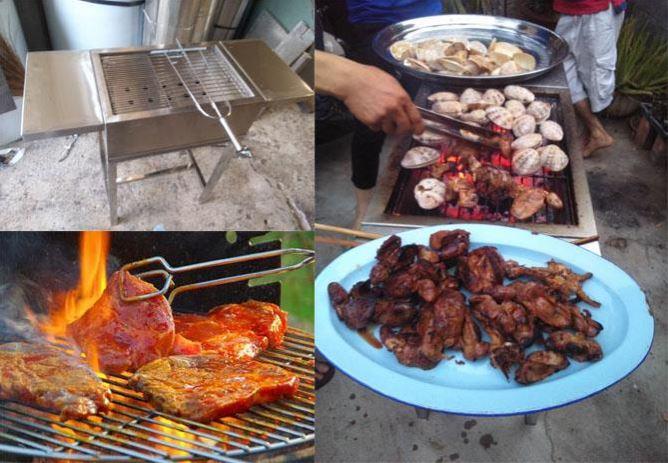 Bếp nướng BBQ dùng than