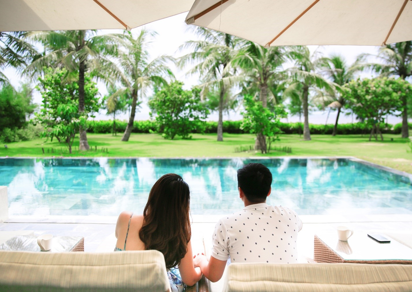 villa có bể bơi
