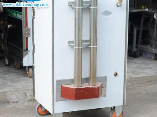 Tủ hấp công nghiệp Trung Quốc gas