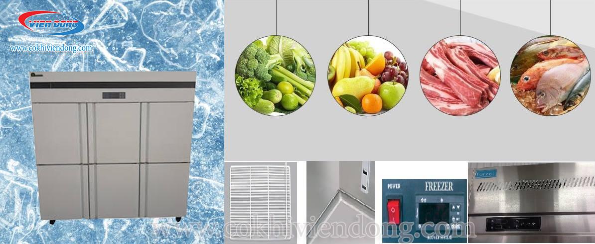 Tủ đông 2 chế độ 6 cánh - Thiết bị nhà bếp ưu việt và hiện đại bậc nhất