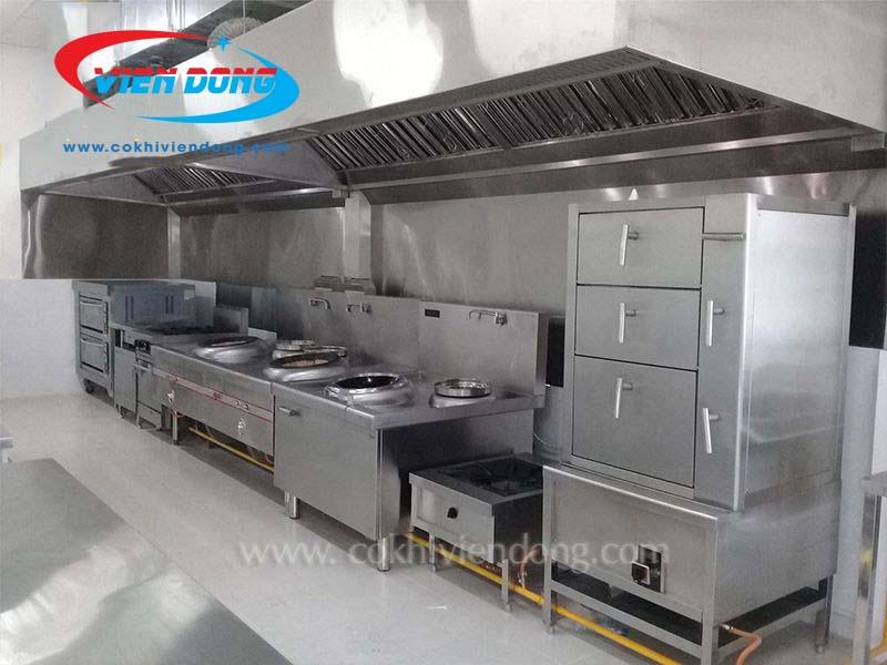 Tủ hấp hải sản 6 tầng dùng điện