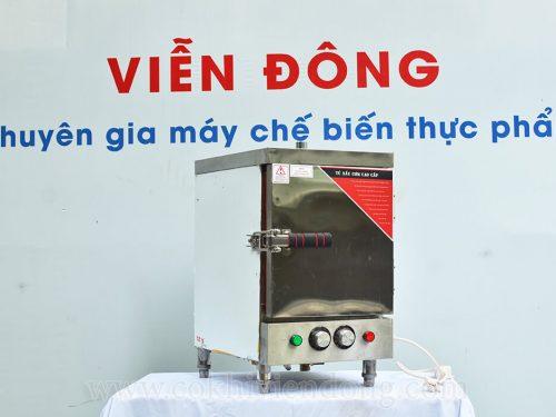 tủ nấu cơm công nghiệp mini 4 khay