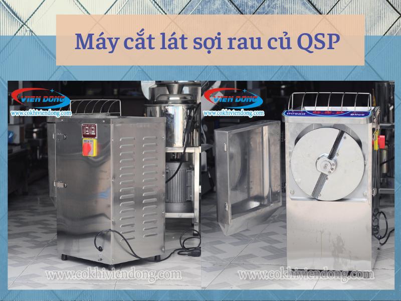 máy cắt lát sợi rau củ QSP
