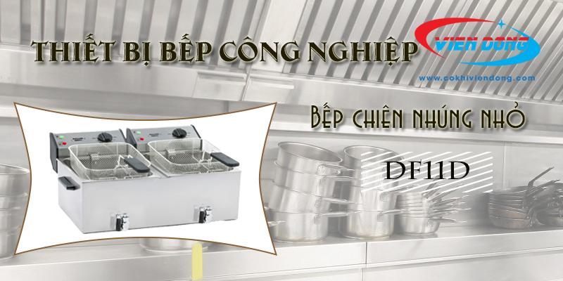 Bếp chiên nhúng đôi DF11D