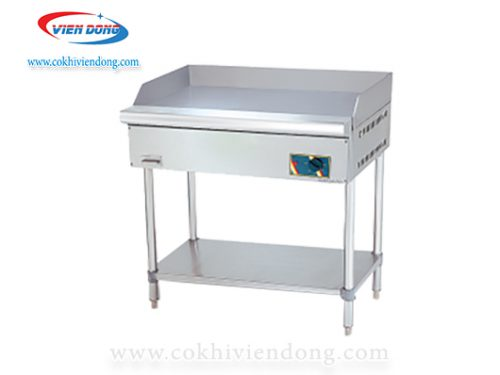 Bếp chiên rán phẳng EG 5250 FS dùng điện có chân đứng