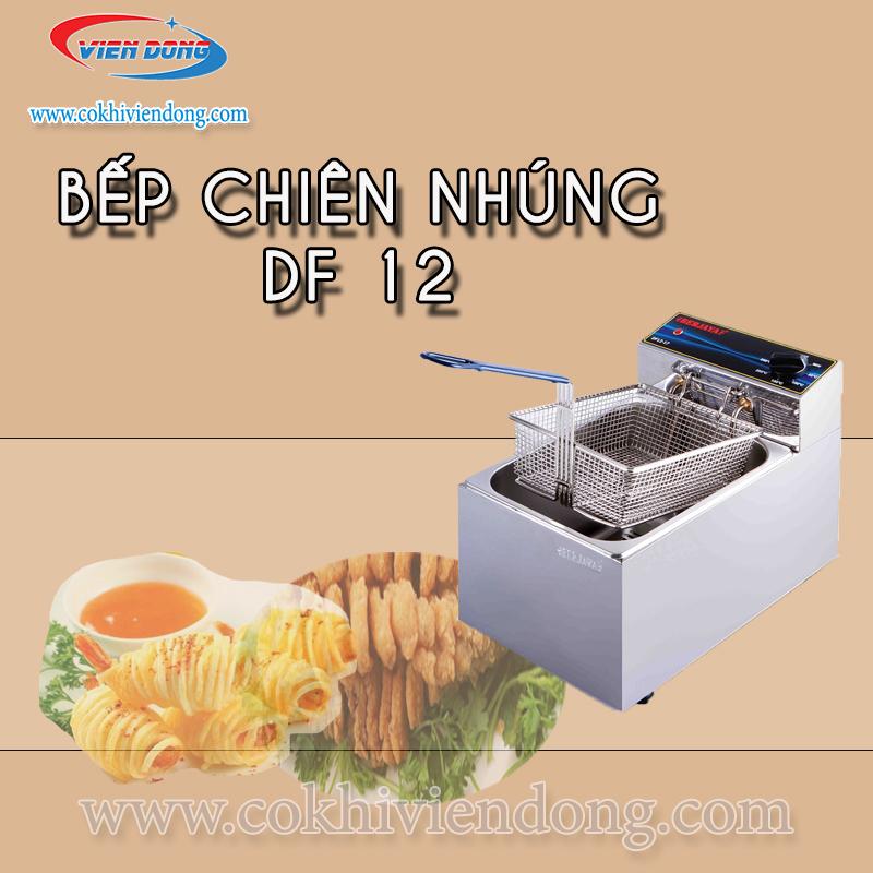 bếp chiên nhúng đơn DF 12 (infor)