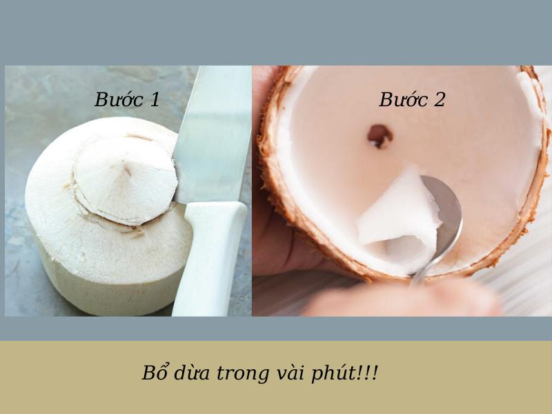 cách gọt dừa không bị đen (4)