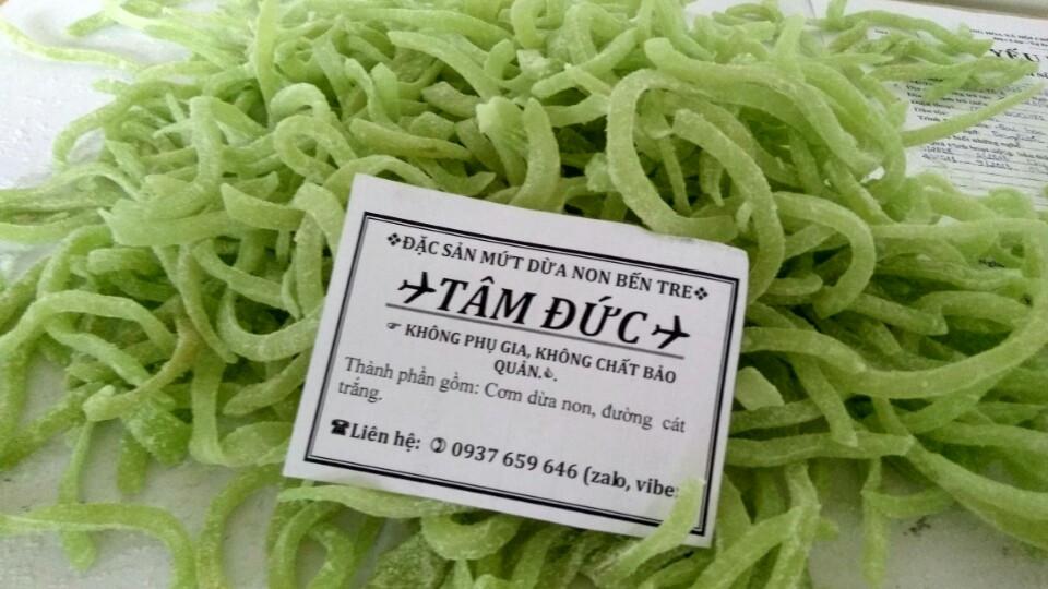 Giá mứt dừa trên thị trường hiện nay là bao nhiêu?