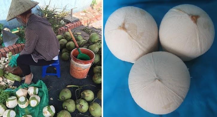Tổng hợp cách gọt dừa không bị đen làm mứt để bán