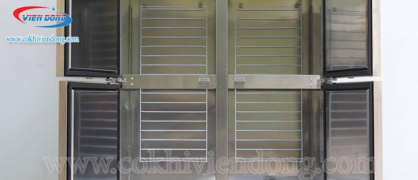 Tủ 4 cánh inox 2 mát 2 đông KRF45-4H - Bền đẹp và sử dụng hiệu quả