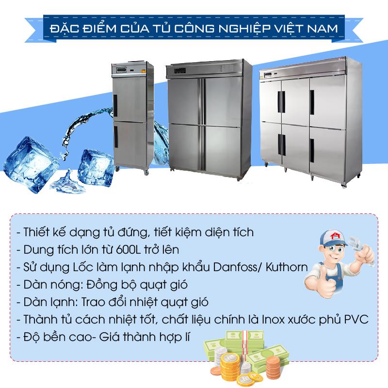 Lựa chọn tủ đông công nghiệp như thế nào phù hợp và hiệu quả???