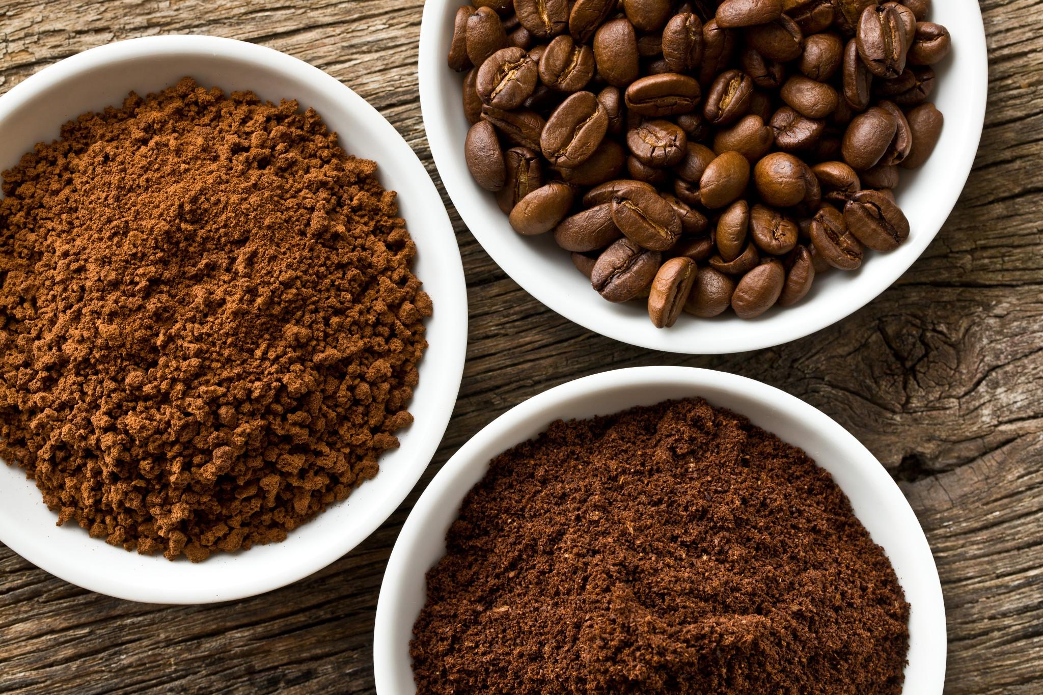 bột cafe khi xay bằng máy xay cafe 600n