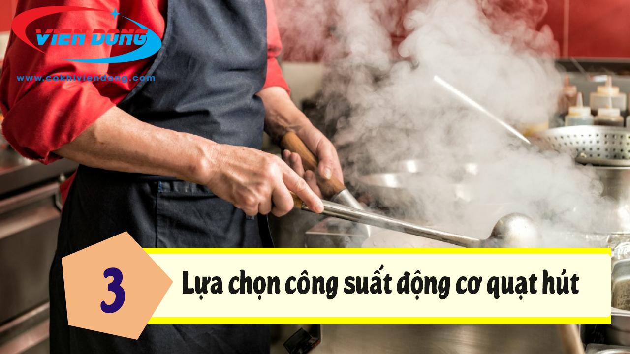 Lựa chọn máy hút mùi công nghiệp phù hợp với nhu cầu sử dụng