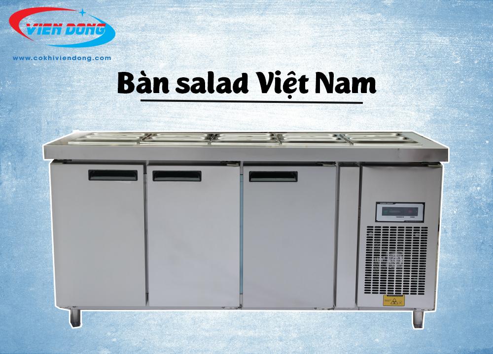 Bàn salad Việt Nam dùng làm gì và có đặc điểm như thế nào?