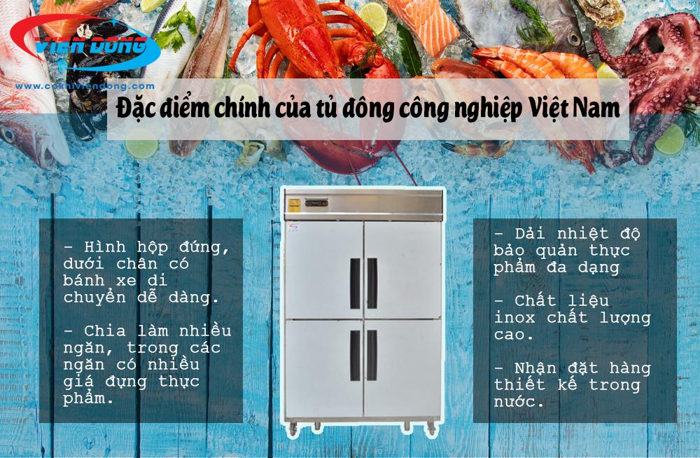 Tủ đông công nghiệp Việt Nam - Thiết bị bảo quản thực phẩm không thể thiếu