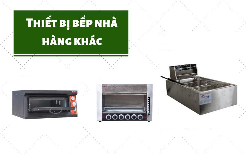thiết bị bếp nhà hàng nhỏ