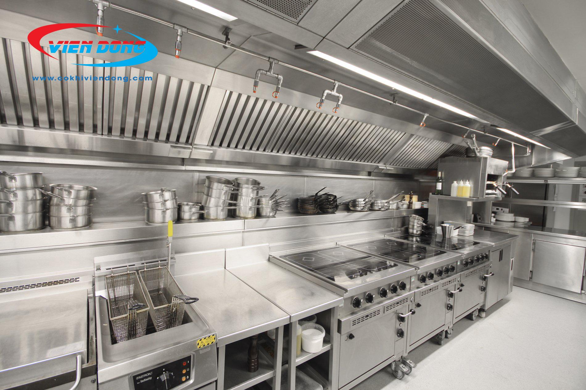 đơn vị cung cấp thiết bị bếp nhà hàng