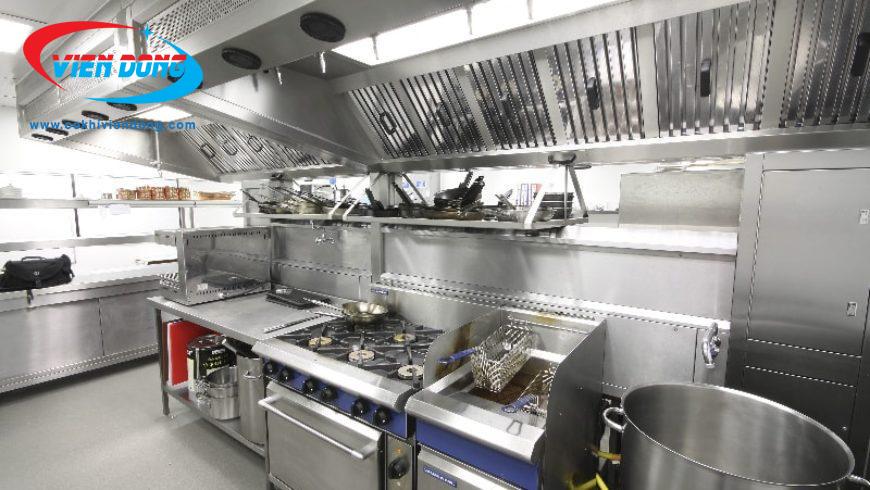 chi phí thiết kế bếp nhà hàng nhỏ