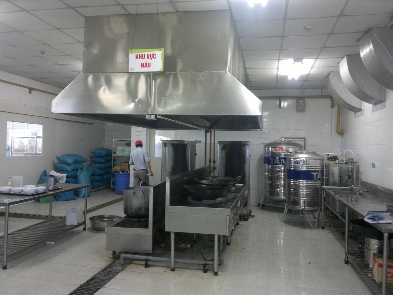 bảo trì thiết bị bếp nhà hàng nhỏ