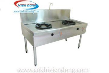 Bếp Á 2 họng gas – Bếp Á công nghiệp phổ biến nhất