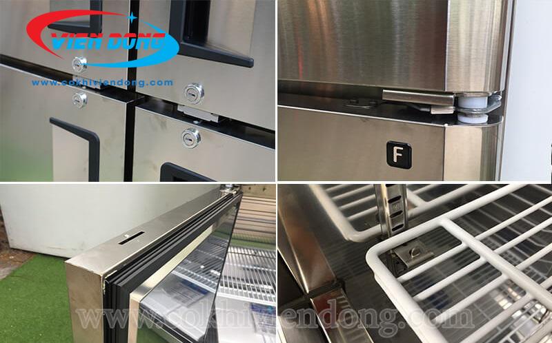 Những lưu ý giúp sử dụng hiệu quả tủ đông 3 cánh inox