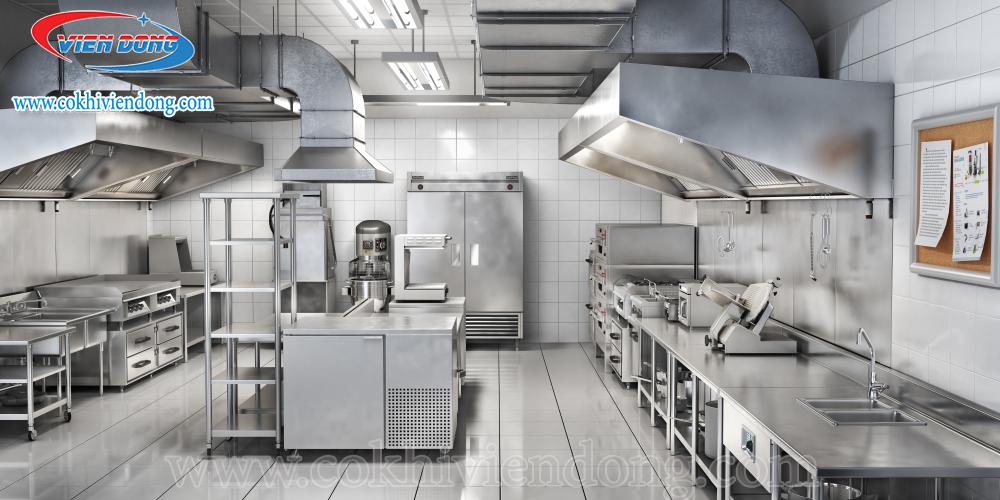 Thiết bị bếp công nghiệp căn bản cho các khu vực trong bếp