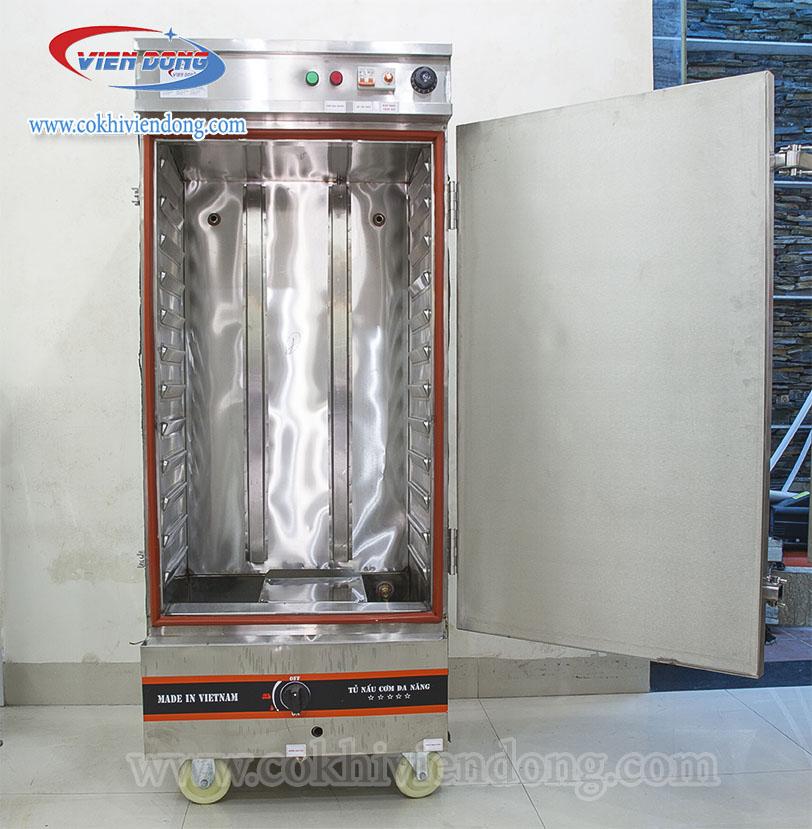 Tủ nấu cơm điện gas