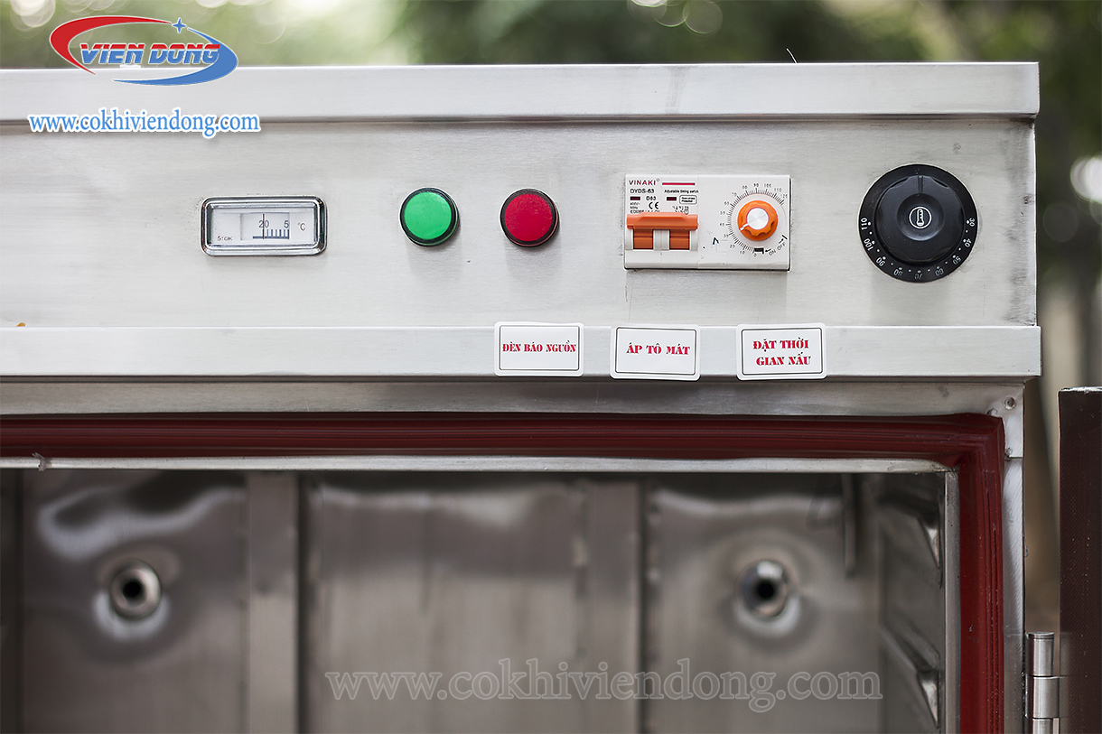 Tủ nấu cơm 24 khay Việt Nam