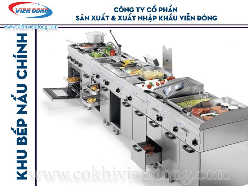 Hệ thống thiết bị bếp nhà hàng