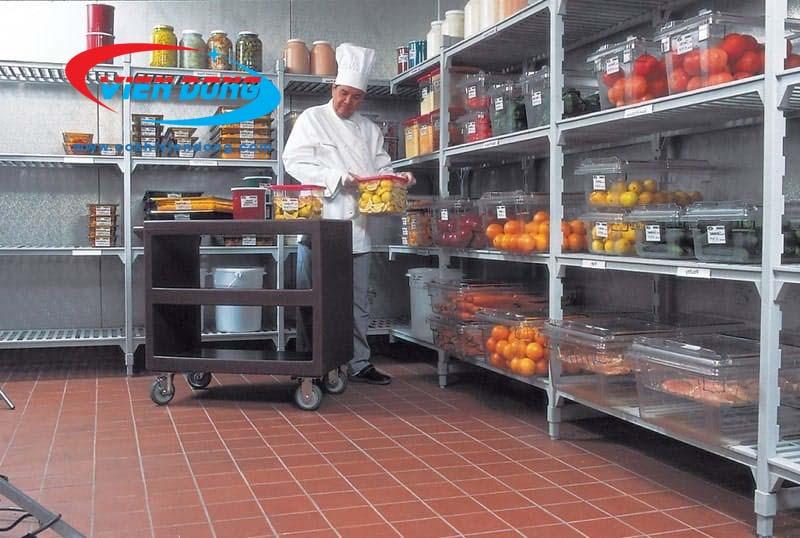 hệ thống bếp nhà hàng khu nấu chính khu bảo quản