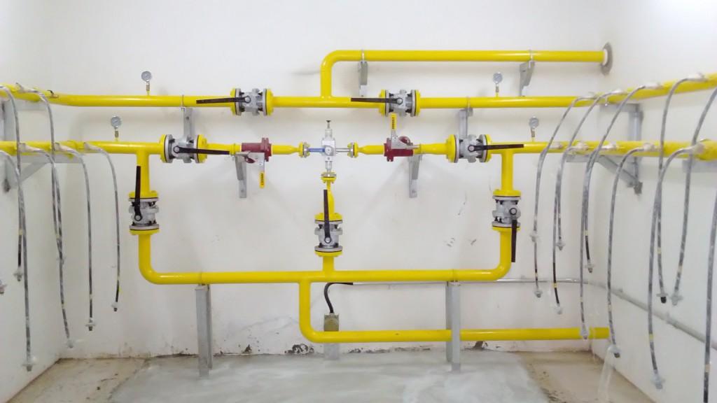 hệ thống bếp nhà hàng- hệ thống gas