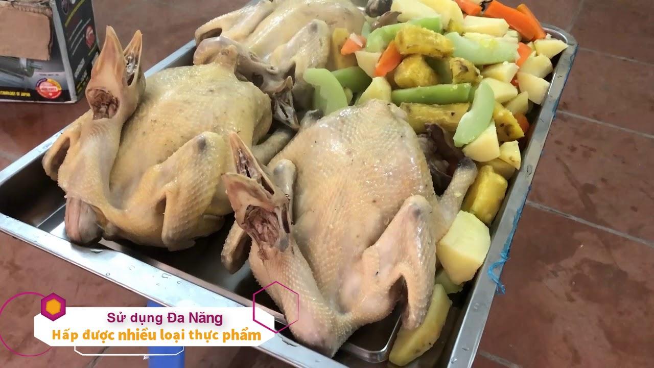 Tủ nấu cơm Việt Nam 6 khay đặt hàng (1 cửa)
