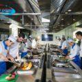 thiết kế bếp quán ăn