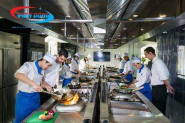 Những mấu thiết kế bếp quán ăn HIỆN ĐẠI- THÔNG MINH nhất hiện nay