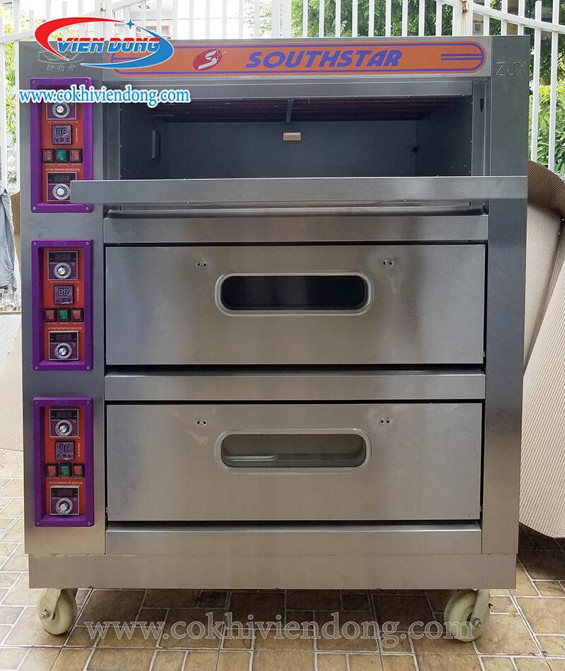 Lò nấu cơm niêu 3 tầng điện, gas
