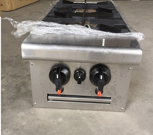 Bếp âu 2 họng dùng gas