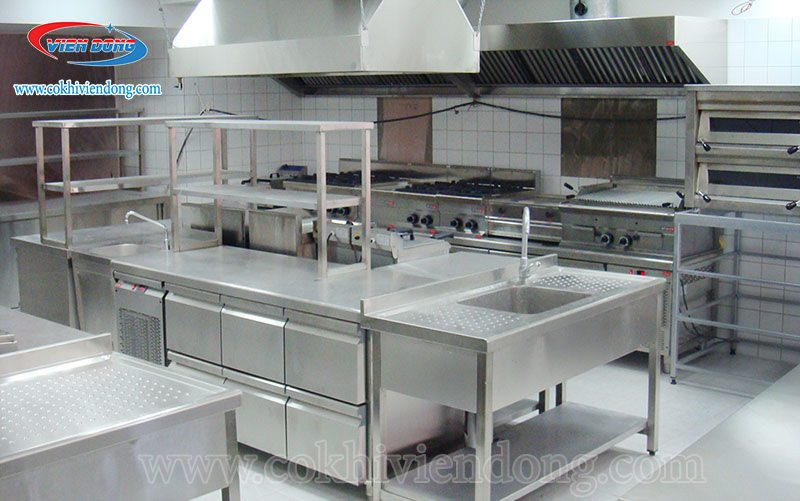 thiết kế bếp cho quán ăn