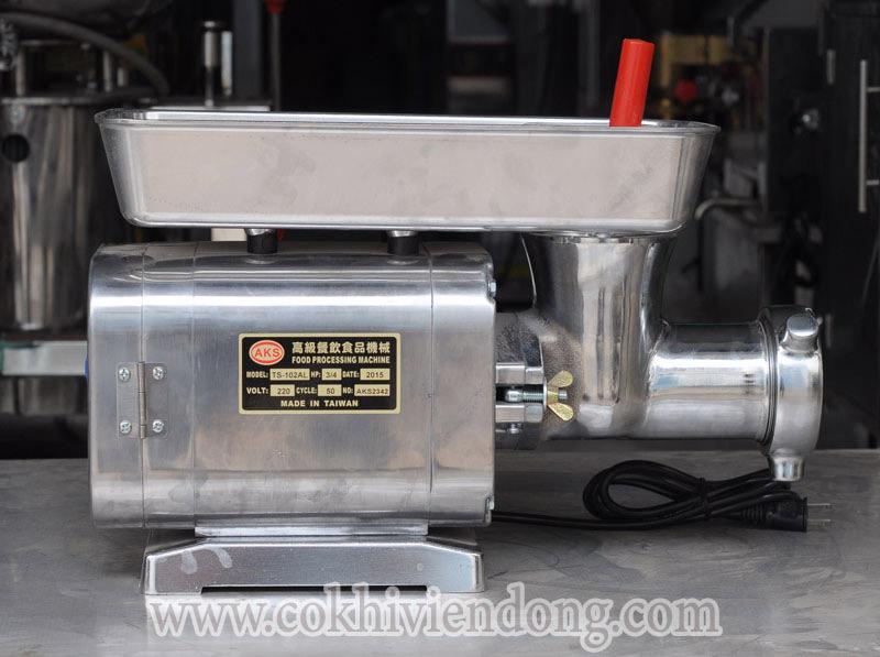 Máy xay thịt Đài Loan AKS-ATS cho năng suất tới 50kg/h