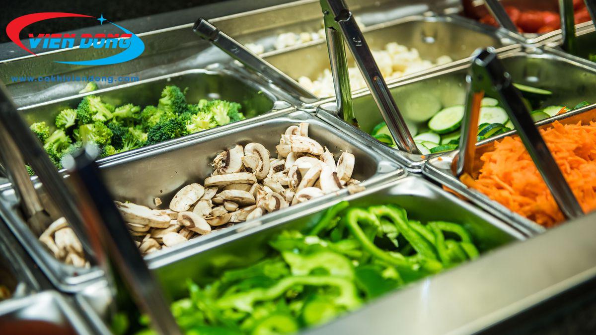 Bàn salad mát 1500