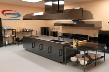 Bản vẽ 3D bếp nhà hàng là gì? Lý do tại sao bạn cần bản vẽ 3D