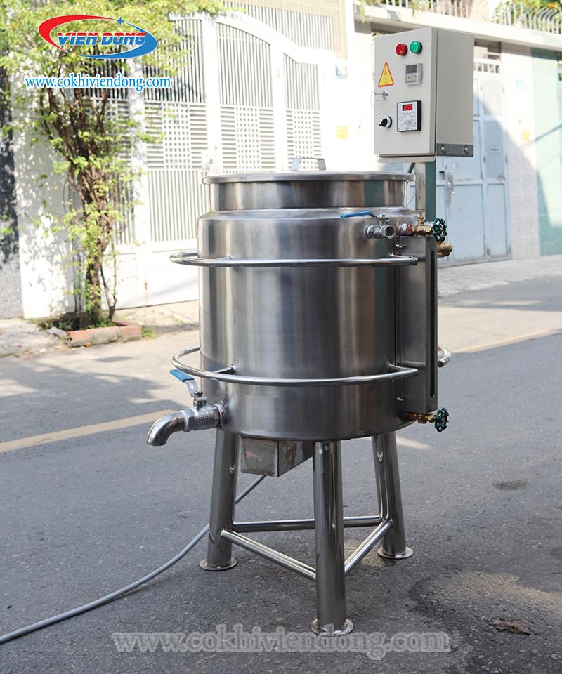 nồi nấu súp 100l 3 lớp